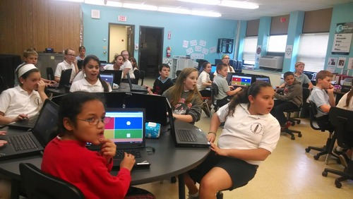Connecting classrooms in the USA and South Africa with Kahoot!