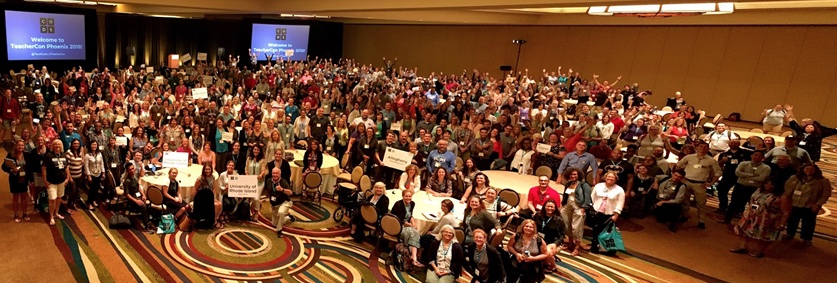 Code.org national teacher conference Phoenix